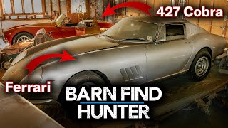 $4,000,000 Barn Find - Rare Ferrari AND 427 Cobra Hidden for...