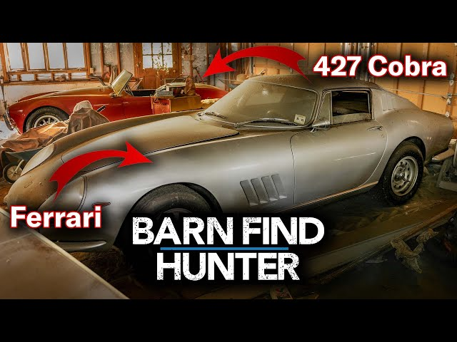 Heres What Its Like To Find 8 Million Worth Of Cars In A Random Garage