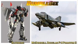 BumbleBee 2018 Transformers Movie Characters in Real life