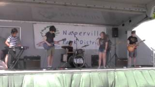 School Of Rock Naperville House Band Play Beatles @ Kite Festival
