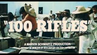 100 RIFLES - TRAILER