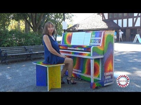 Play Me, I'm Yours, Boston 2016: J. Lennon & P. McCartney – Michelle By Ella Tetelboym
