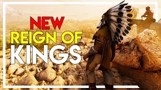 The NEW Wild-West Reign of Kings Game! (Heat Survival Gameplay Part 1)