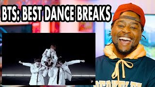 BTS: Best Dance Breaks | REACTION!!!