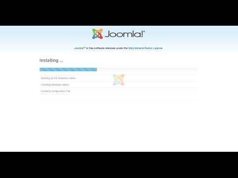 Fixing Error Joomla 3x : Joomla is still installing