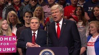 SNL Cold Open Alec Baldwin's Donald Trump: 'Keem Amarica Greab Agrain'