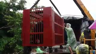 LIVE: Bile farm bears being loaded onto the rescue truck