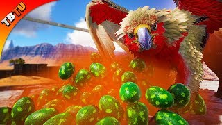 ARK ALPHA GRIFFIN HATCHENING! GRIFFIN BREEDING AND MUTATIONS! Ark Ragnarok Extinction Core E16