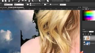 Уроки Корел. PaintShop Pro x4. Урок 14. Изменяем фон фотографии Хорошее качество видео уроки для нач