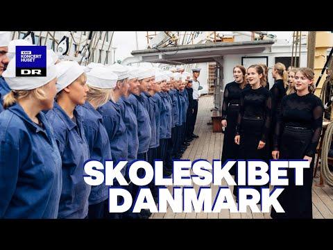 Tårevædet velkomst: Se DR PigeKoret synge for hjemvendte skoleskibs-elever