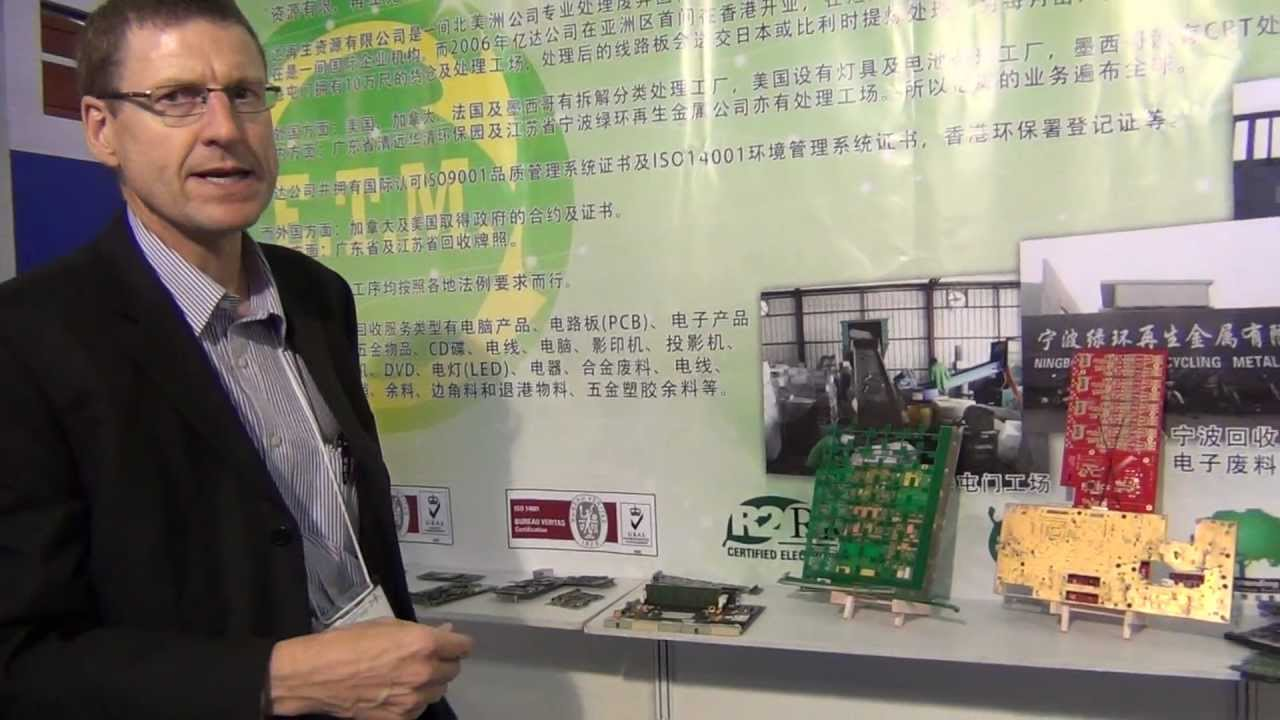 Pcb Expo Tour Recycling Boards Youtube Recycle Buy Machineprinted Circuit Board