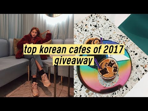 [GIVEAWAY] Top BEST Korean Cafes of 2017 | Q-talk #3