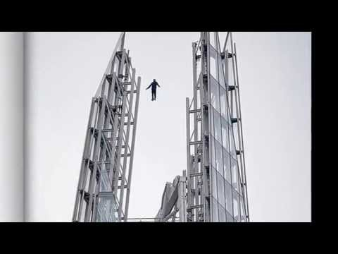 Is this Dynamo's best trick yet? Magician appears to levitate 1,016ft in the air above the Shard