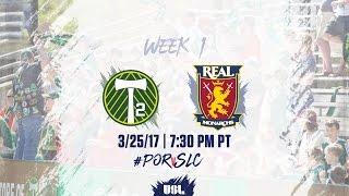 USL LIVE - Portland Timbers 2 vs Real Monarchs SLC 3/25/17
