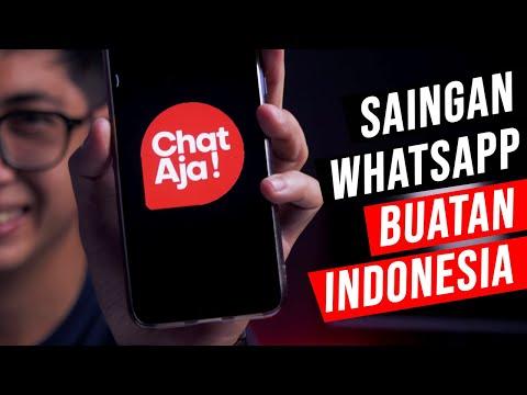 Cara Menggunakan Chat Aja. Aplikasi Pesaing Whatsapp Buatan Indonesia