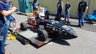 HyTech Racing Sound Test @ Formula Hybrid 2018
