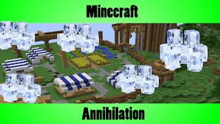 Minecraft Annihilation - Playing On The New Map Alpine