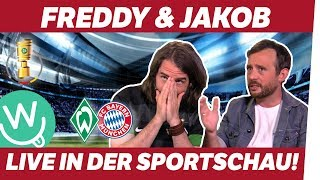 YouTuber Freddy & Jakob kommentieren live in der Sportschau!