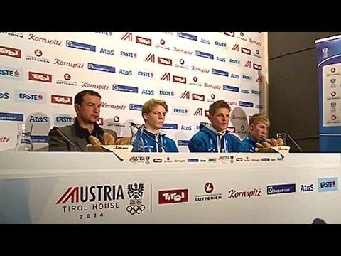 Skispinger Andreas Kofler schon raus ! Winterspiele 2014 Sotschi