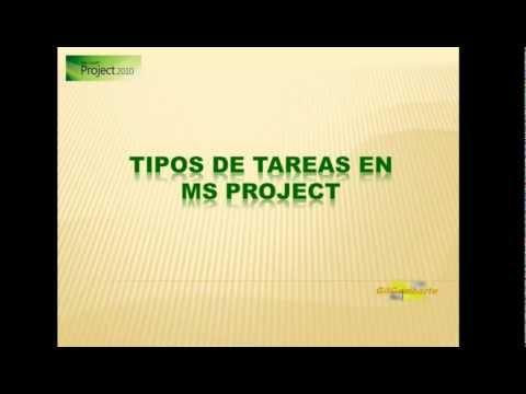 MS PROJECT 2010-2013-2016: TIPOS DE TAREA Y PROGRAMACIÓN CONDICIONADA POR EL ESFUERZO (32)