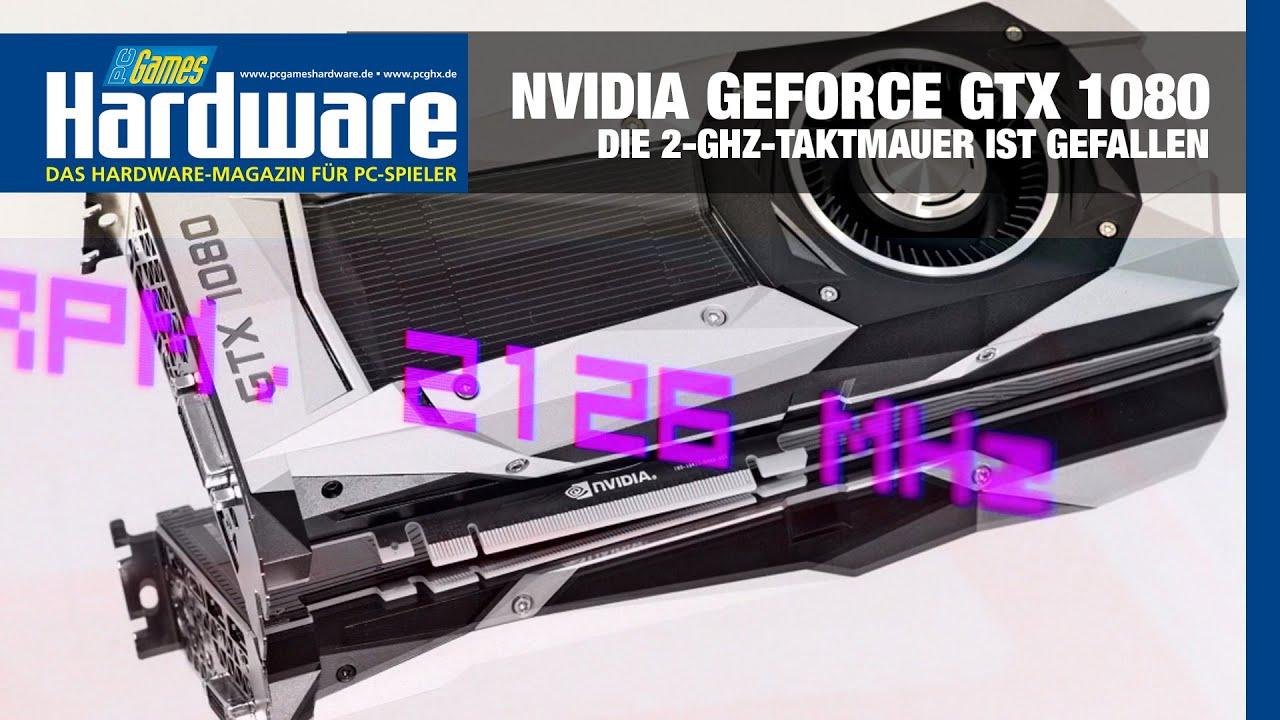NVIDIA GeForce GTX 1080 Reaches 2 12GHz Under 50c with Arctic