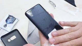 Nano ochrana zakriveného displeja (WowFixIt na Galaxy S8)