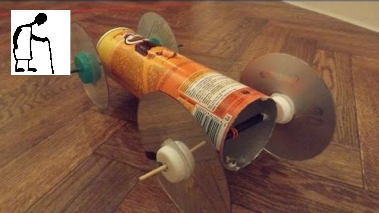 Rubber Band Powered Car to answer Carissa's question - YouTube