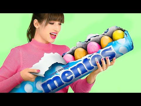 6 DIY Giant Candy vs Miniature Candy / Funny Pranks!