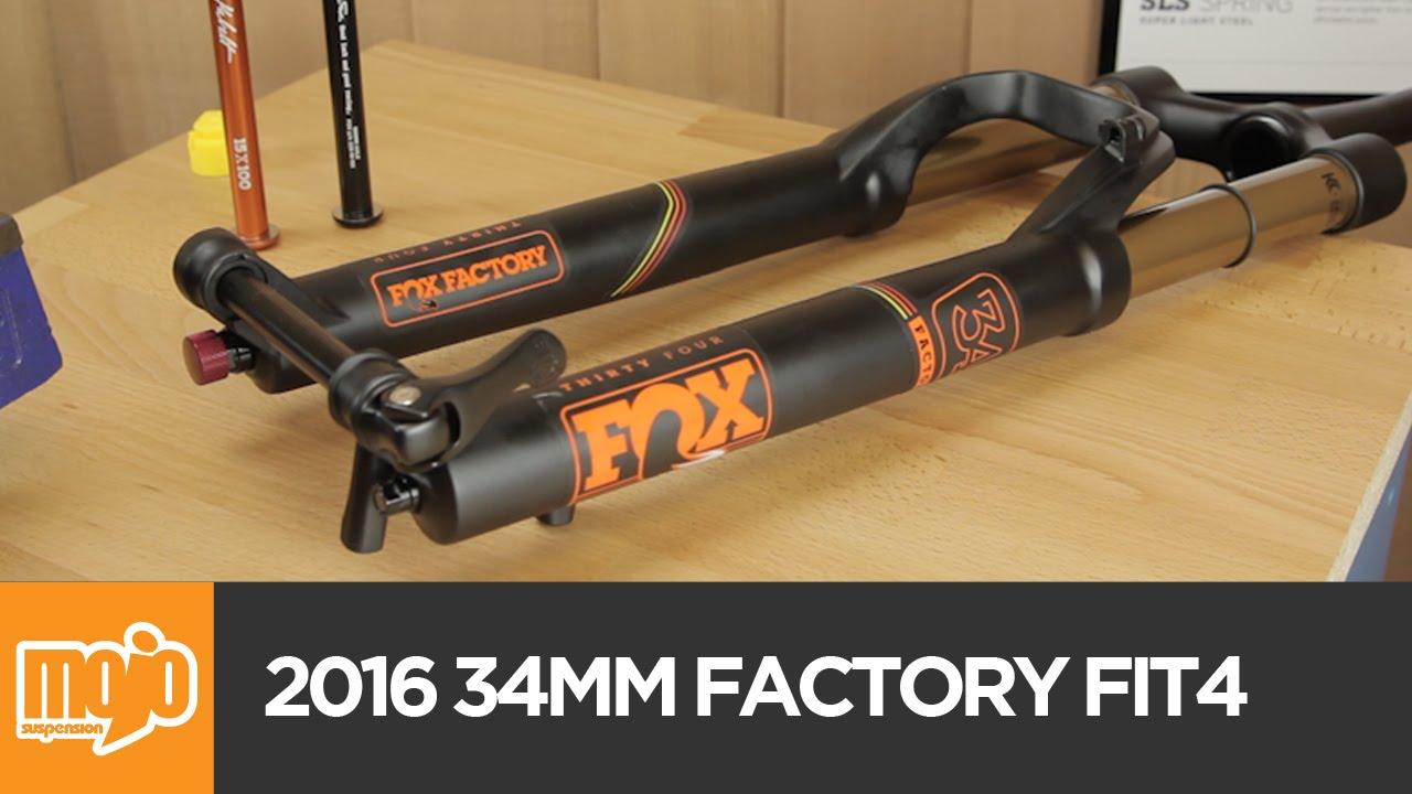 FOX 34mm Factory FIT4 FLOAT 2016