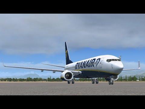 FSX SE VRyanair PMDG 737 NGX | Verona - Palermo - Budapest - Prague