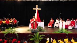 Homélie de Mgr David MACAIRE - RAMEAUX 2016 (Pastorale des Jeunes de Martinique)