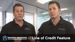 Reverse Mortgage Educators: Line of Credit Feature