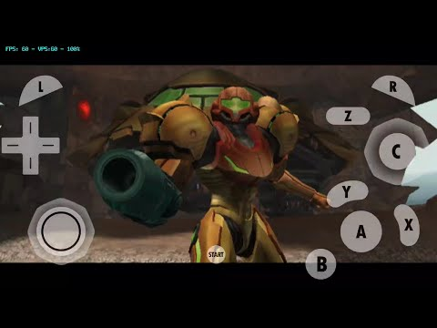 Metroid Prime 2 : Echoes Gamecube Dolphin MMJ Emulator Android