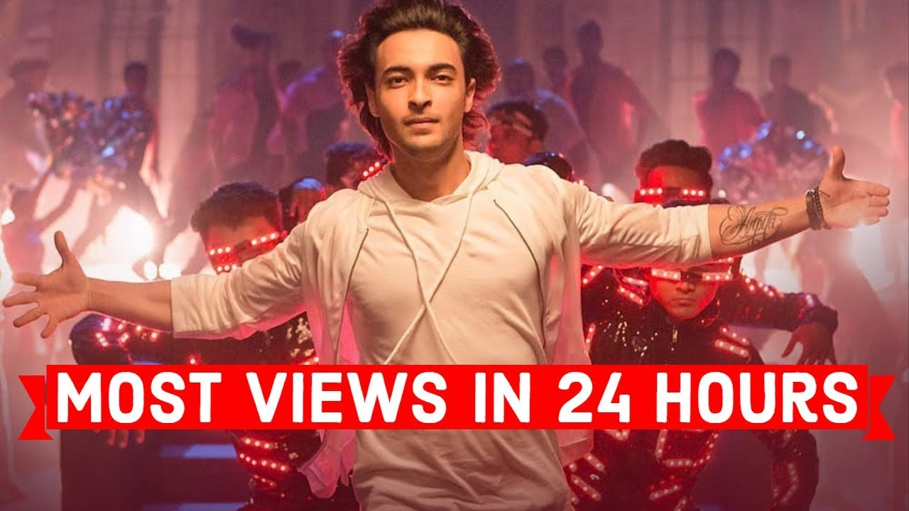 Top 25 Most Viewed Indian/Bollywood Songs in First 24 Hours   Hindi, Punjabi Songs