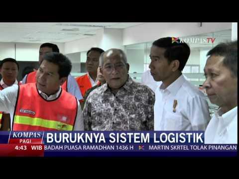 Pelayanan Pelabuhan Tanjung Priok Lama, Jokowi Marah