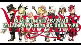 Dragon Nest M - SEA - Clash of Mines - 6/27/18 - Villains Vs. Exiled Vs. UnHoly.PH - #MacyRah