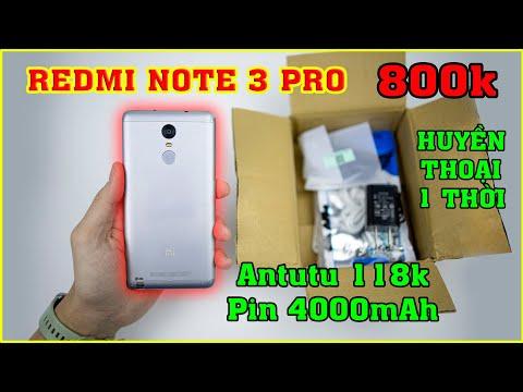 DƯỚI 1 TRIỆU MUA ĐIỆN THOẠI GÌ? Mở hộp Redmi Note 3 Pro 800k trên LAZADA, SHOPEE | MUA HÀNG ONLINE