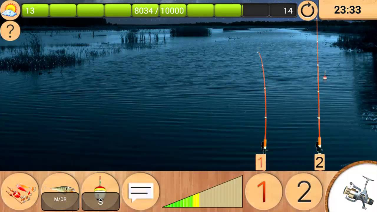 My fishing игра на Android #14 Дедовский …