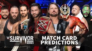 wwe predictions