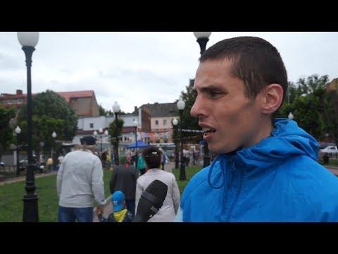 """Опрос на день молодёжи в Черняховске - """"Легко ли быть молодым"""""""
