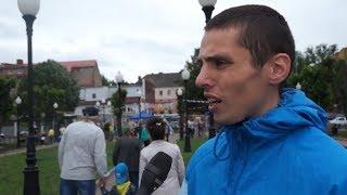 Опрос на день молодёжи в Черняховске -