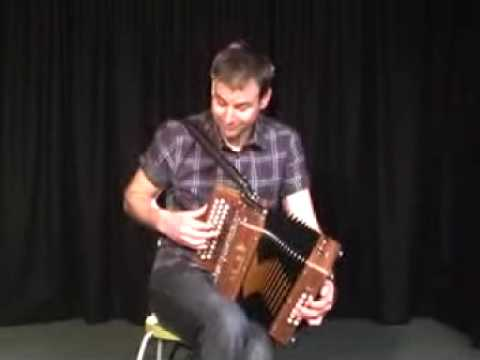 Tim Edey playing his brand new Saltarelle Melodeon from The Music Room part 2