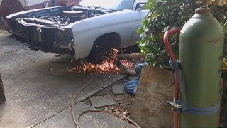 71 Chevelle Hood and Fender Replace - Part 1
