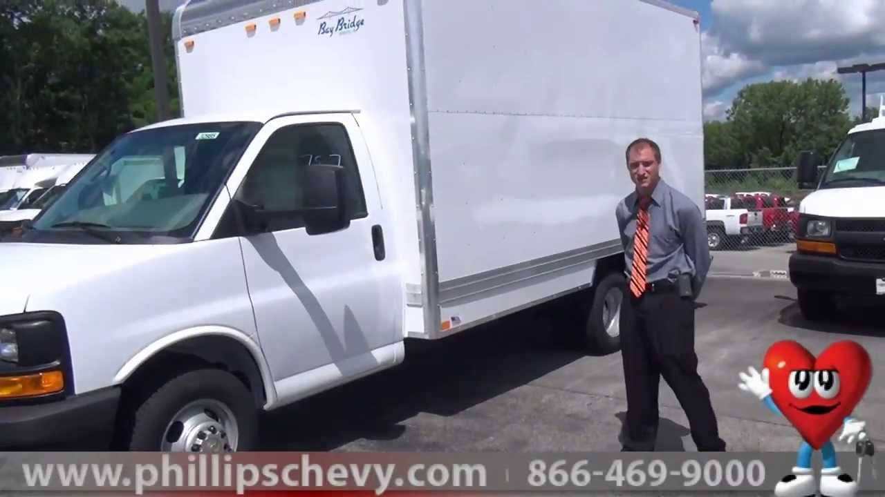 medium resolution of phillips chevrolet chevy express cutaway box truck walkaround chicago new car dealership youtube