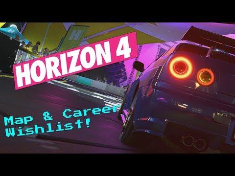 Map & Career Wishlist For Forza Horizon 4! thumbnail