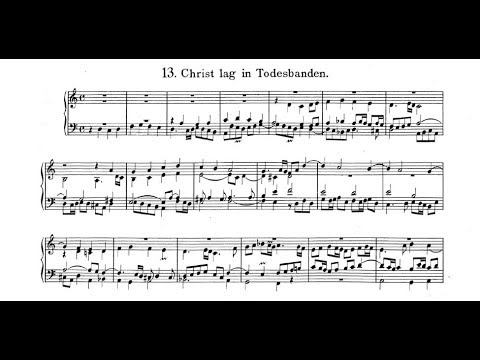 Johann Pachelbel: Chorale Prelude,