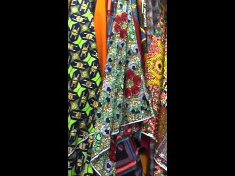 Japan selling Africa clothes