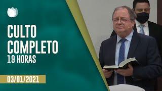 CULTO NOTURNO 19:00H   Igreja Presbiteriana de Pinheiros   Rev. Arival Dias Casimiro   IPP TV