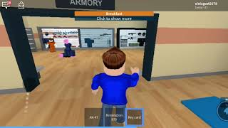 HOW to GET into PRISON when you're at breakfast-Roblox prison life @