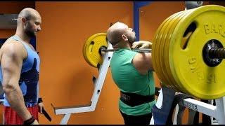 видео Приседания со штангой на груди. Техника выполнения | Extrastrong - Силовой тренинг, Фитнесс и бодибилдинг, Увеличение мышечной массы